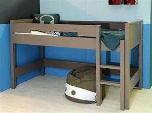 Lit Superposé 1 Place : tendance le lit mezzanine lit mezzanine pour enfant lits mezzanine et mezzanine ~ Melissatoandfro.com Idées de Décoration