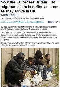 TYRANNICAL EU DEMANDS UK TO HAND OVER BENEFITS TO JUST ...