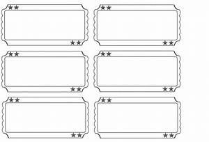 printable raffle tickets blank kids - Google Search ...