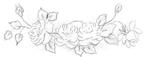Coisas da Nil Pintura em tecido: Rosas verdes