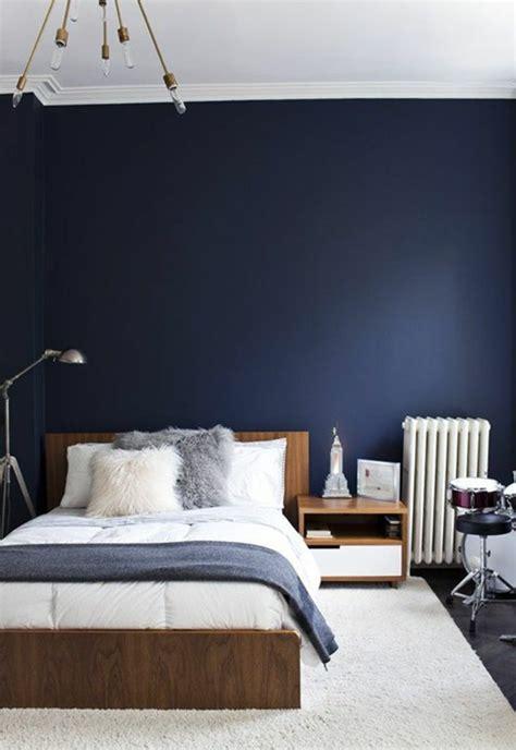 d馗oration mur chambre idee de peinture chambre 6 chambre bleu fonc et beige table de chevet idée décoration mur 17585 design decoration 16 feb 18 06 47 07