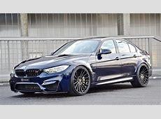 Hamann BMW M3 in Tanzanite Blue