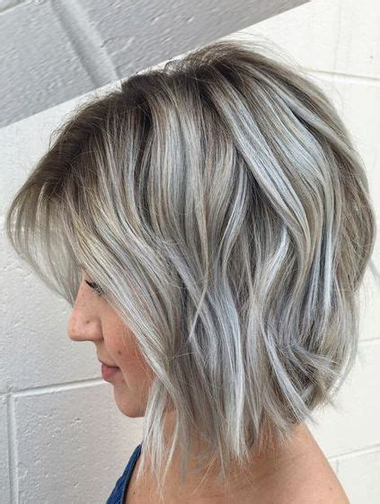 Hair Colour Styles For Hair by Many Dimensional Silver Grey Hair Color Ideas For
