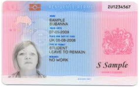Biometric Residence Permit - ILR and UK Visas