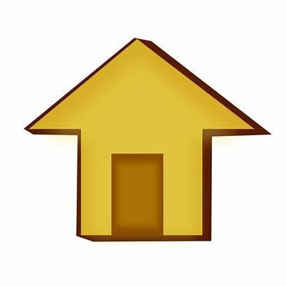 Icon Clip Clipart Estate Illustration Cliparts Mortgage