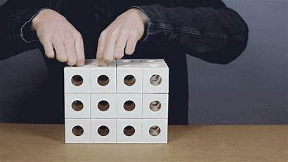 Kinetic Cube System Shapes Reconfigured 3d Origami