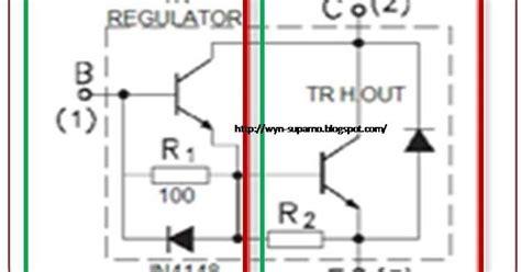 ingin berbagi ilmu dan pengalaman transistor horizontal jvc tv dengan rakitan transistor darlington