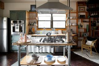 bench kitchen sinks my houzz bright boho style carriage house in east 6499