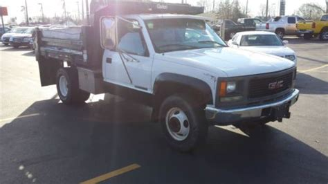 all car manuals free 1997 gmc 3500 electronic toll collection purchase used 1997 gmc 3500 4x4 diesel dump truck only 75k miles stick shift in patchogue new