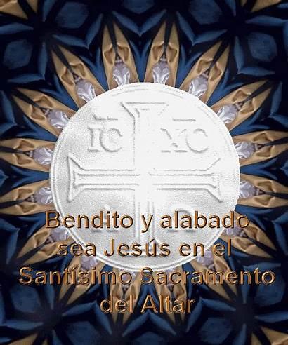 Sacramento Jesus Tiemblan Creen Demonios Santisimo Altar