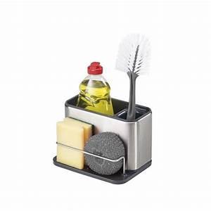 Rangement Ustensile Cuisine : bac de rangement vier surface acier joseph joseph ~ Melissatoandfro.com Idées de Décoration