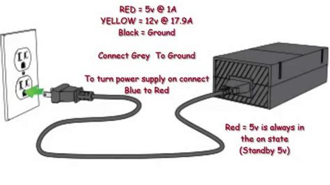 Xbox Power Supply Wiring Diagram Electrical Website