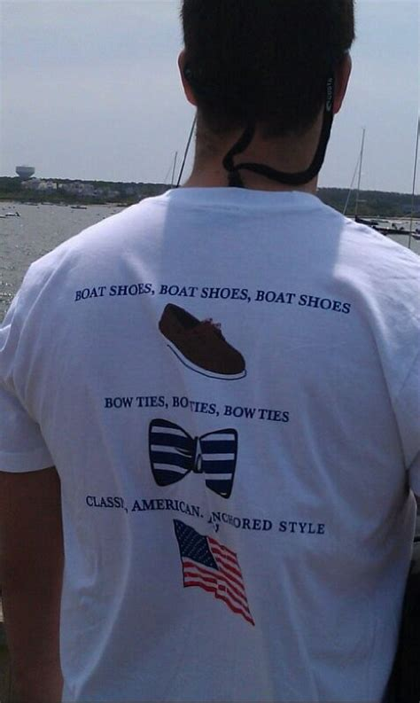 Regal Boats T Shirt by Boat Shoes Bow Ties American Anchored Style Ootf