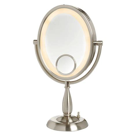 lighted magnifying mirror 10x magnification luxury makeup and mirrors