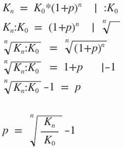 Effektiven Zinssatz Berechnen : mathe g19 zinseszins und zinseszinsformel matheretter ~ Themetempest.com Abrechnung