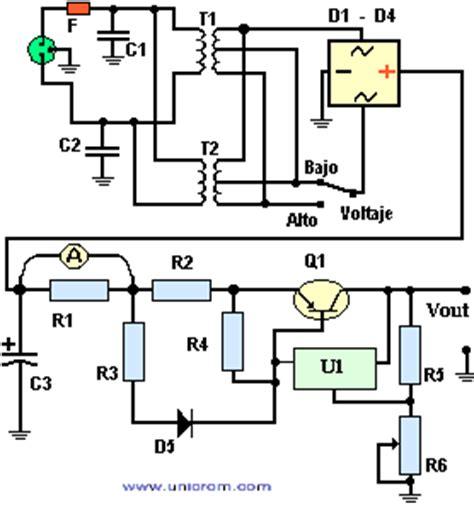 fuente de voltaje con lm317 y transistor lificador de corriente electr 243 nica unicrom