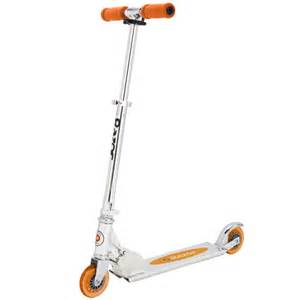 design outlet shop razor classic 10th anniversary scooter orange toys thehut