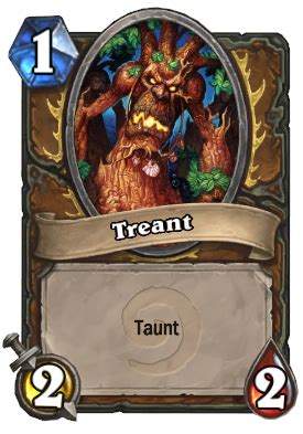 Hearthstone Taunt Deck Druid by Treant Taunt Hearthstone Card Hearthstone Top Decks