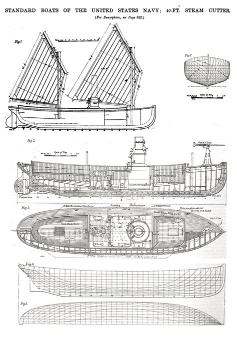 How To Draw Model Boat Plans by 40 Ft Steam Cutter Jpg 1244 215 1774 Ship Modelling