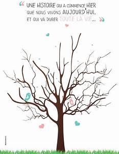 Arbre A Empreintes : arbre empreintes livre d 39 or id e en vrac mariage ~ Farleysfitness.com Idées de Décoration