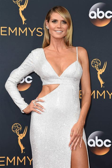 Heidi Klum Annual Emmy Awards Los Angeles