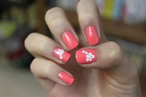 Easy Flower Nail Designs | Nail Designs Hair Styles Tattoos and Fashion Heartbeats