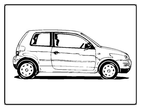 Kleurplaat Simpele Auto by Simple Race Car Coloring Pages Only Coloring Pages