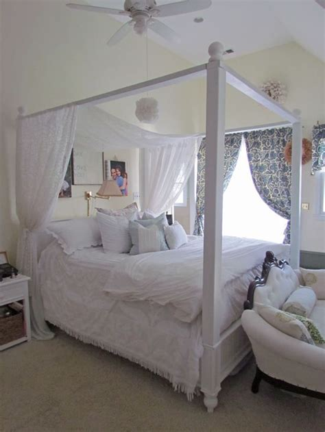 white canopy bed 13 best images about diy furniture on white