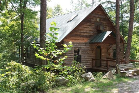 lookout mountain cabins missouri mountain log lookout on the fork river