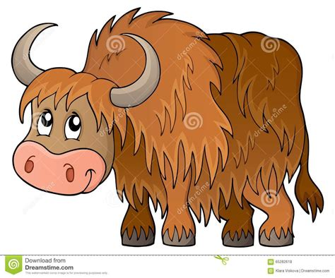 Yak Clipart Yak Illustrations Vector Stock Images 908