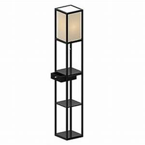 Shelves products and lamps on pinterest for Etagere floor lamp bed bath and beyond