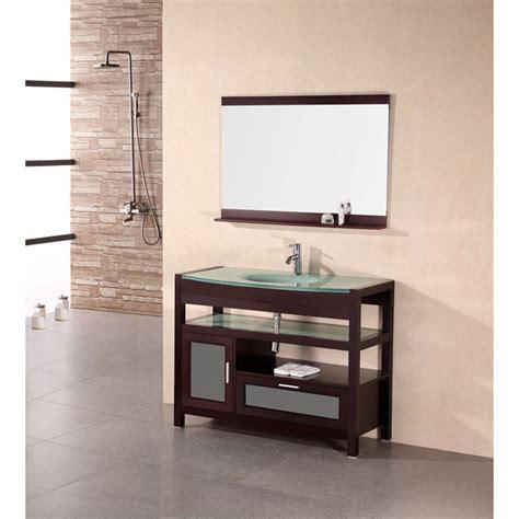 design element bathroom vanities design element designer s pick 43 quot bathroom vanity set mahogany free shipping modern bathroom