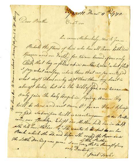 eighteenth century letter writing  native american