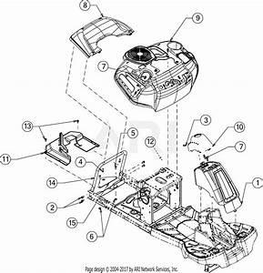 Troy Bilt Tb30r  13cc26jd011   2016  Parts Diagram For Fender