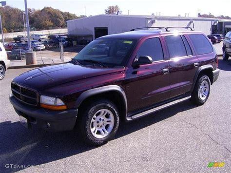 Dodge Durango 2003 by 2003 Molten Pearlcoat Dodge Durango Sxt 25415325