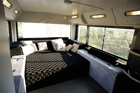 Bus Converted Into A Luxury Home
