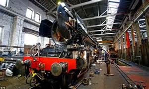 The Flying Scotsman Is Pictured For The First Time After  U00a34 2m Restoration