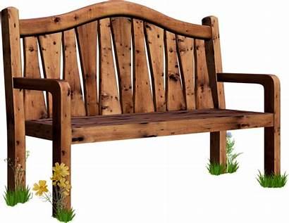 Bench Clipart Garden Gate Farm Chair Transparent