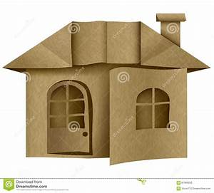 Origami Maison En Papier : architecture maison de carton de papier origami ~ Zukunftsfamilie.com Idées de Décoration