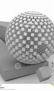 3d cube stock illustration. Illustration of dimensional ...