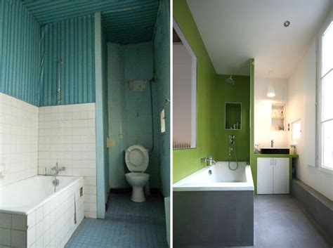 salle de bain anis avant apr 232 s r 233 novation d un appartement par julie alazard une hirondelle dans les tiroirs