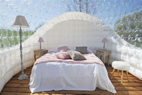chambre bulle paca chambre bulle une nuit insolite en isère domaine de suzel