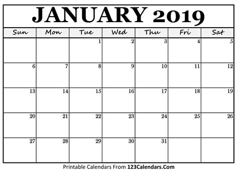 january  printable calendar template november