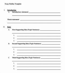 Printable 5 paragraph essay outline yahoo image search for Prewriting outline template