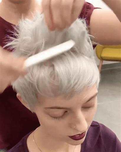 Pixie Short Styling Hair Haircut Haircuts Behindthechair