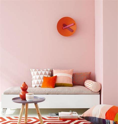 Wandfarbe Orange Töne by Zartes Rosa Mit Orange Bild 6 Living At Home