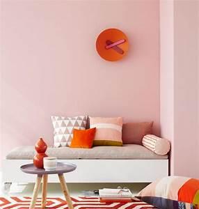 Pastell Rosa Wandfarbe : zartes rosa mit orange bild 6 living at home ~ Sanjose-hotels-ca.com Haus und Dekorationen