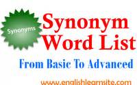 synonym word list archives page commonly using adjectives comparative and superlative forms