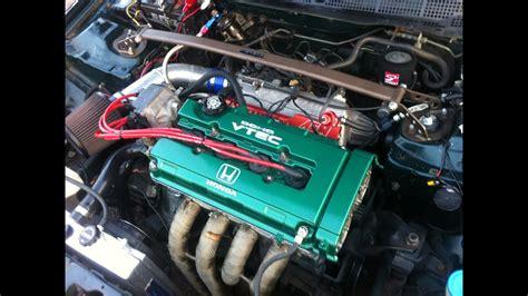 honda civic sedan ls vtec type  built supercharged