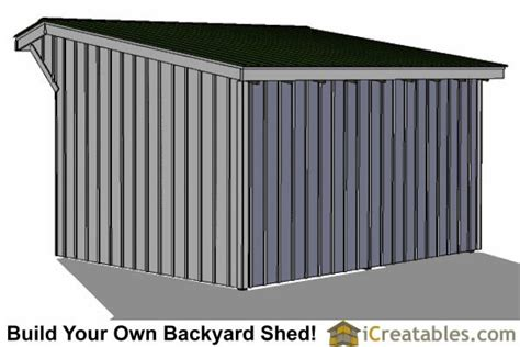 12x16 Shed Material List by 12x16 Run In Shed Plans